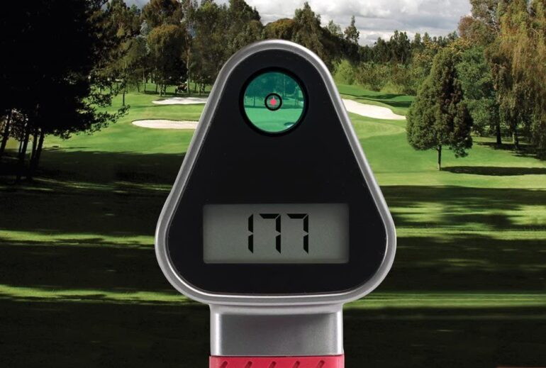 Laser Link Red Hot 2B Golf Range Finder Review 1