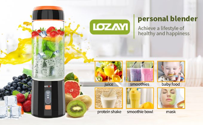 lozayi portable blender 6