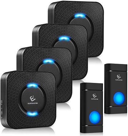 ELEPOWSTAR Wireless Doorbell 5