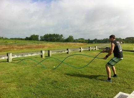 Garden Hose Battle rope7