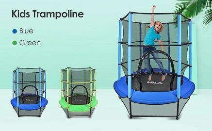 LBLA Kids Trampoline 3