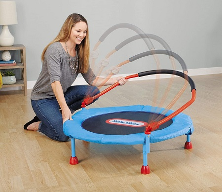 Little Tikes Easy Store Trampoline 7
