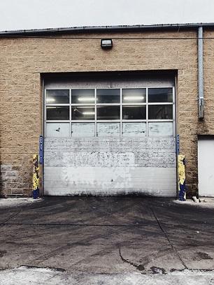 smart garage door home
