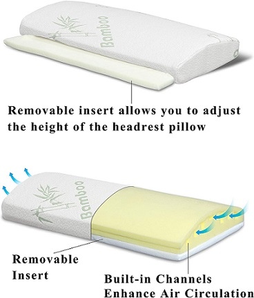 InteVision Foam Bed Wedge Pillow5 2