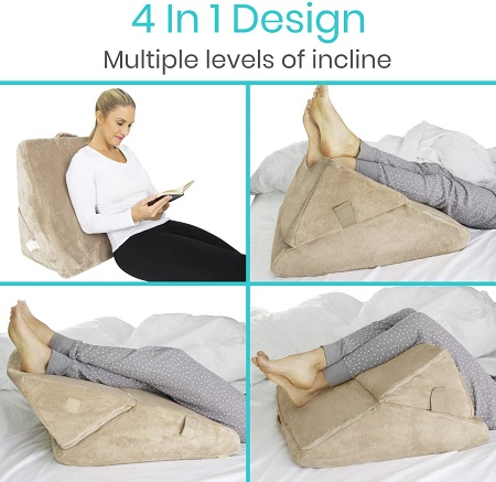 Versatile wedge pillows