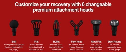 hydragun 6 massage heads