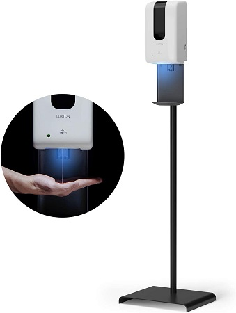 7 Best Automatic Hand Sanitizer Dispensers With Stand of 2021